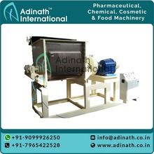 India supplier sales screw extruding sigma blade mixer 500L silicone rubber double sigma kneader