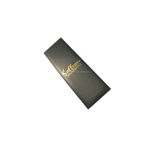 Luxury hotel menu booklet cover/leather menu holder for restaurant/hotel restaurant supplies