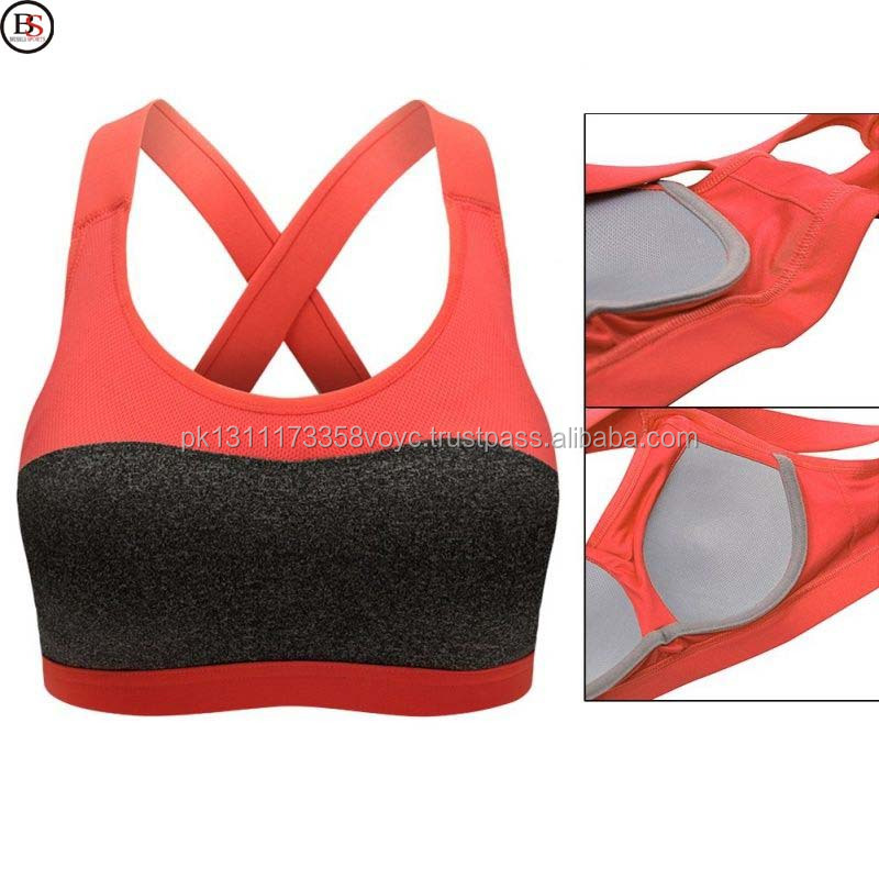 Brussels Sports Hot Selling Seamless Beautiful Bra New Design Made In