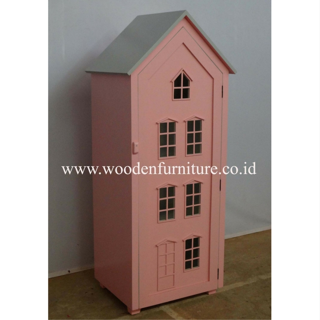 Children Furniture Doll House Kids Toy House Children Toy Cabinet Kids Furniture