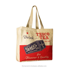 Advertising OEM Printed Fashion Promotion Canvas Bags