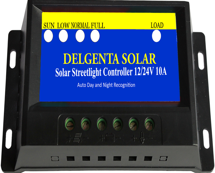Solar Charge controller, Solar charger, 12-24V charger, Auto day and night, Street Light Controller