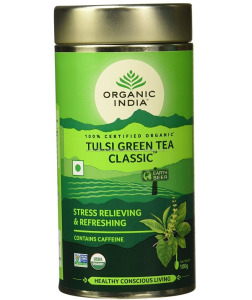Organic India The Tulsi Green Tea,classic 100g