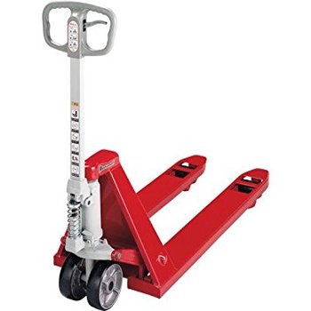 JIS certified easy to use Bishamon series hand pallet truck. Manufactured by Sugiyasu. Made in Japan (hand pallet truck parts)