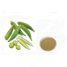 Honson Ingredient: Natural Extract Ratio 10:1 Flavone Okra Extract
