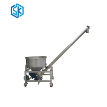 Plastic powder screw auto feeder for mixing machine with low cost high quality