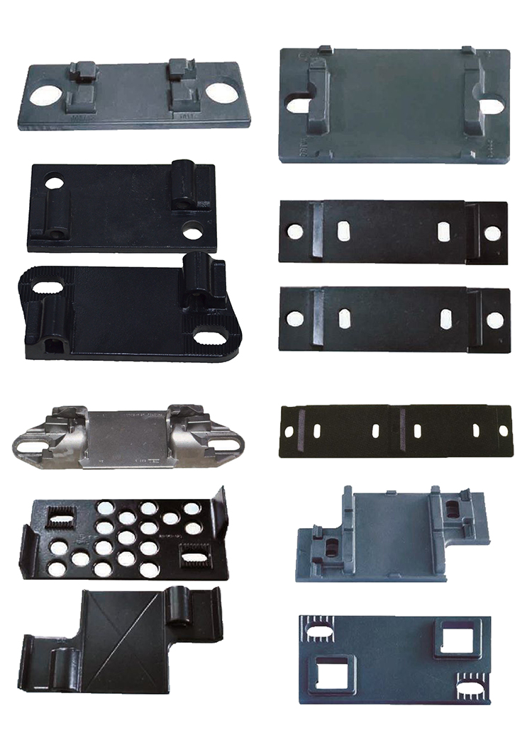 Factory Supplied Rail Base Plate Of Railway Track Materials