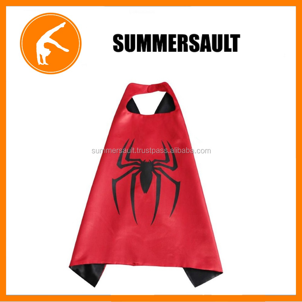 Spiderman Superhero Cape Costume for Running/Marathon