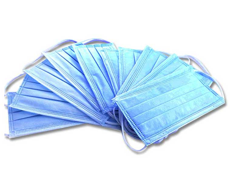 Disposable Non Woven 3 Ply Face Mask