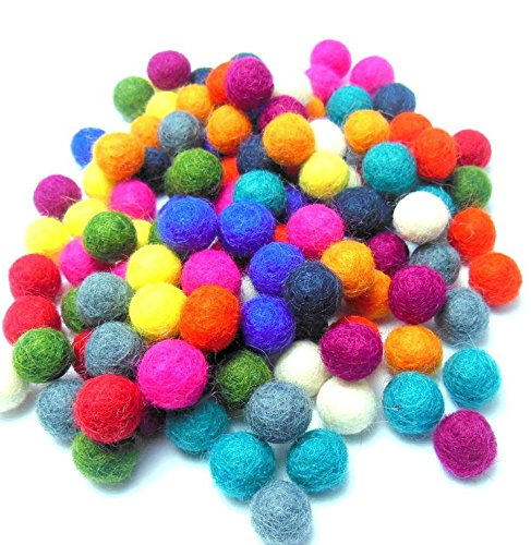 High Quality New Design Wool Felt Ball Rug by Wholesale Manufacture