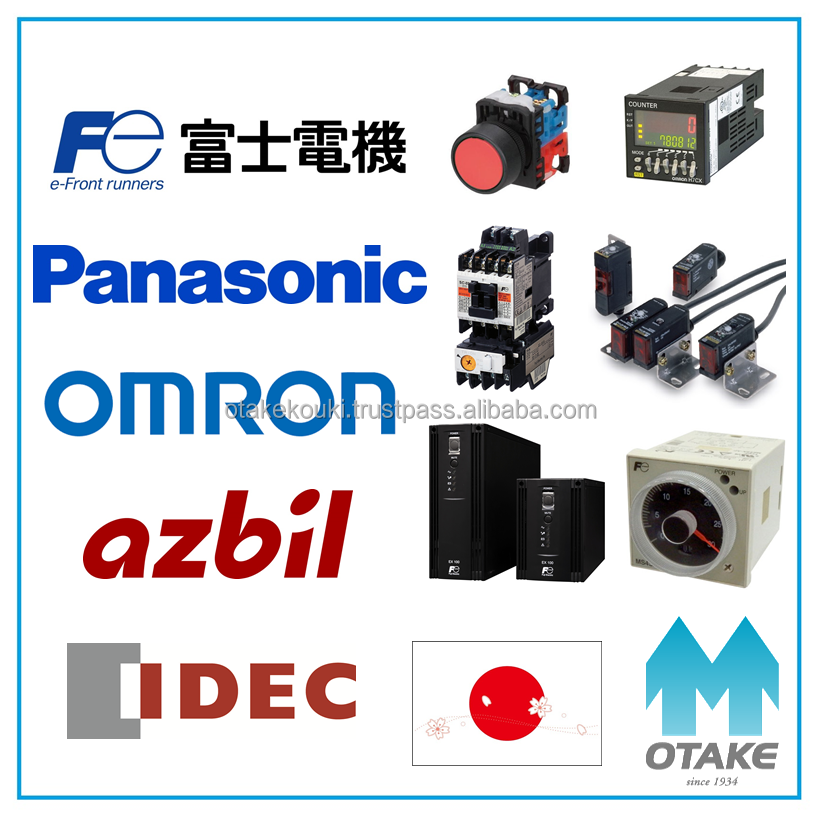 High quality rotary switch (Fuji Electric, Panasonic, Omron, azbil, Idec)