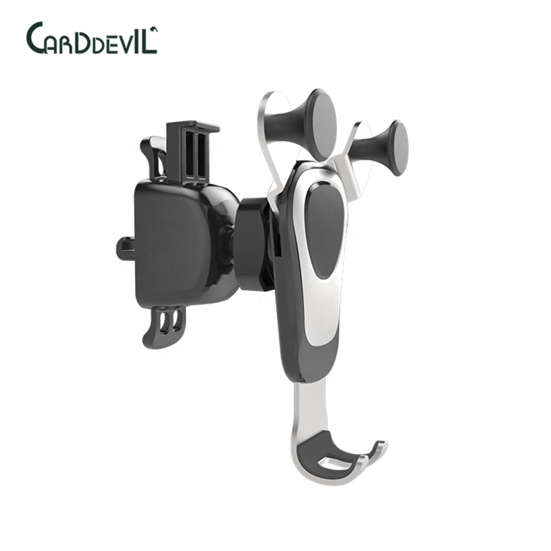 One hand operation all-around protection 360 degree rotating car mobile phone holder - ANKUX Tech Co., Ltd