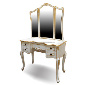 Indonesia Furniture - French Furniture Painted Mahogany Dressing Table