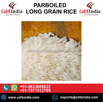 PARBOILED RICE INDIAN / BROWN RICE