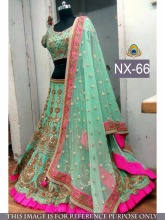 ethnic indian wear bridal and party wear designer lehenga for wholesale Lehenga In Surat