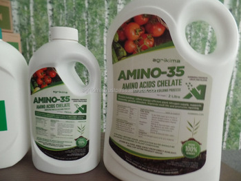Liquid fertilizer containing amino acid -Free Amino Acid 35% Total Organic Substance Organic liquid -amino-35