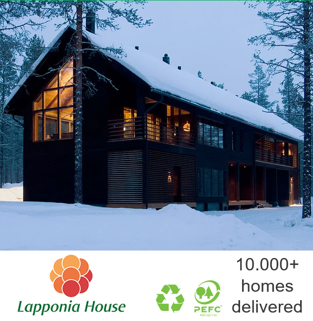 Luxury log house | ecological wooden house | award-winning log home | extreme timber house | pre-fab house