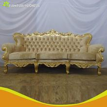 Comfortable sofa designs mahogany wooden carving living room furniture pictures with golden leg