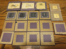 VERY HIGH YIELD GOLD RECOVERY CPU CERAMIC PROCESSOR SCRAPS AND COMPUTER