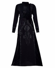 Dubai Velvert Abaya Burkha For Casual Occasion Wear / Women Daily Wear Abhaya Burqa 2017 (dubai abaya 2017)