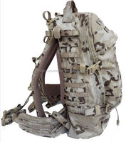 Military tactical molle backpack IR on fabric and webbing