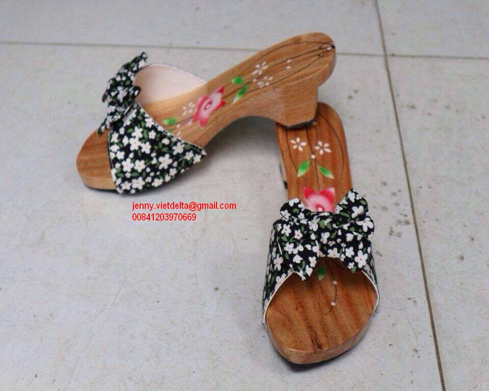 TIKI SHOES / WOODEN CLOGS ( jenny.vietdelta@gmail.com 00841203970669)