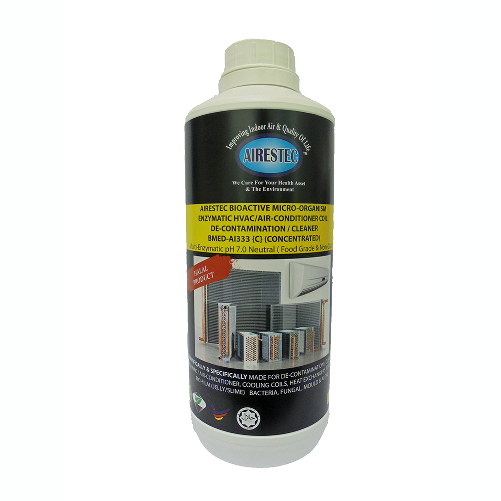 Enzymatic Fresh Air Conditioner Coil Cleaner