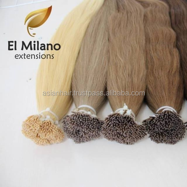 Wholesale Price Remy Italian Keratin Double Drawn Pre Bonded East European Human Hair Extension
