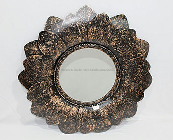 decorative metal mirror wall frame/round wall mirror manufacture and wholesaler