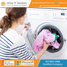 Mobile application development for laundry business