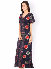 2017 top sale indian cotton nighty