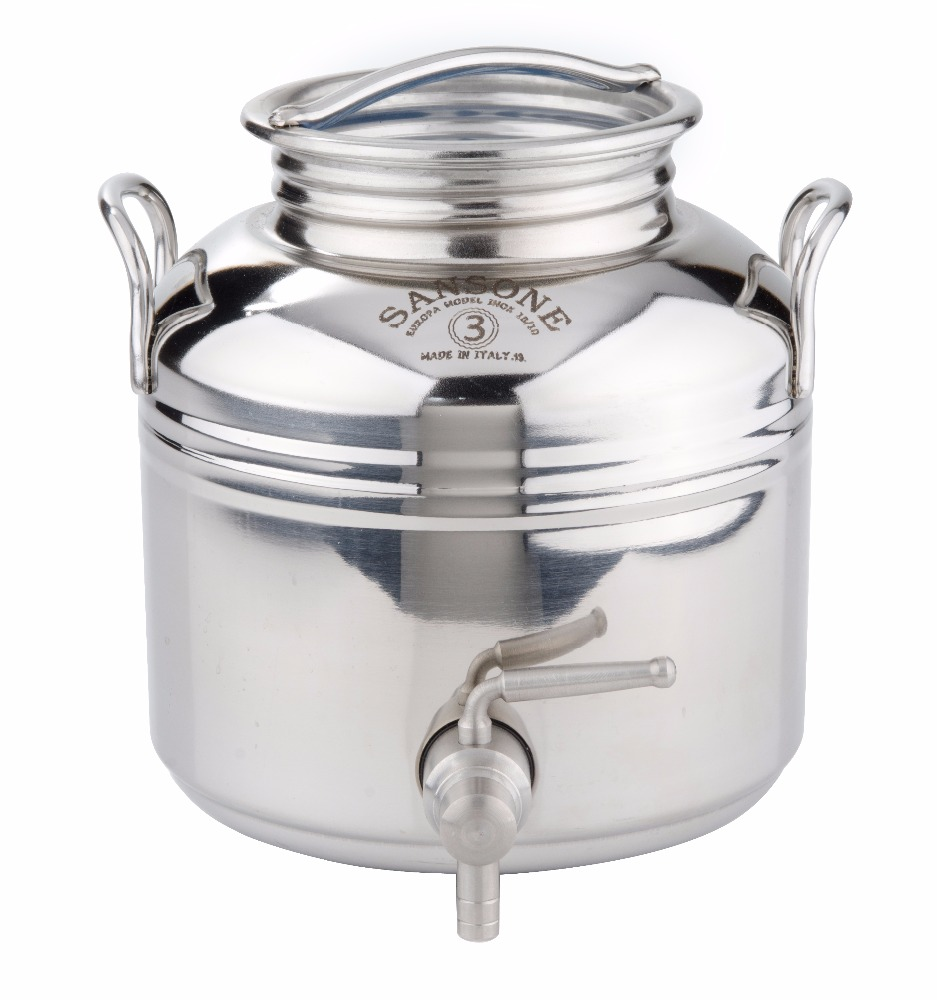Stainless steel container 3 lt.