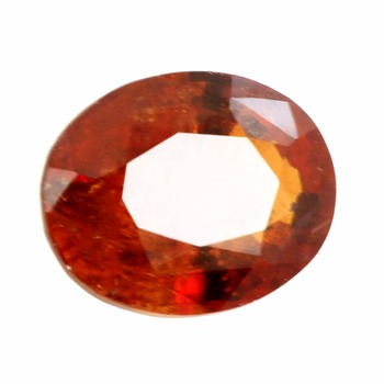 4.02 Cts Hessonite Garnet Loose Gemstone Manchester