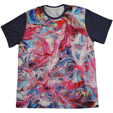Full Digital Sublimation T-shirt fitted on body OEM service custom labels drop tags Leisure wear sports jerseys