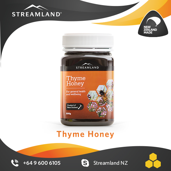 New Zealand Royal Vital honey Strong flavored herbal Thyme honey