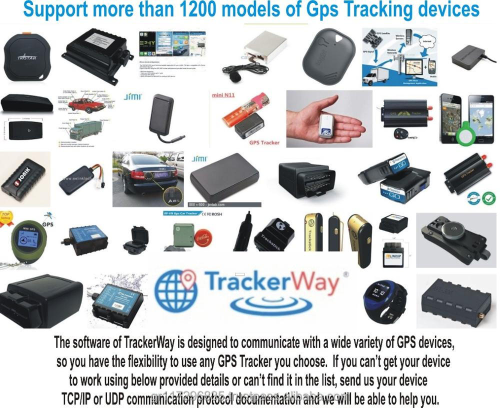 Trackerway Web Based gps tracking software with open source code and android / ios / iphone app and more ...