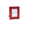 Thai Asian Decor Red Thai Silk Photo Frame