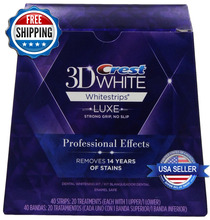 CREST 3D Luxe Glamorous White Whitestrips for wholesale