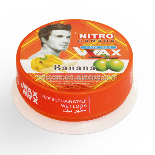 2019 HOT NITRO canada alcohol free hair styling wax for man 150g