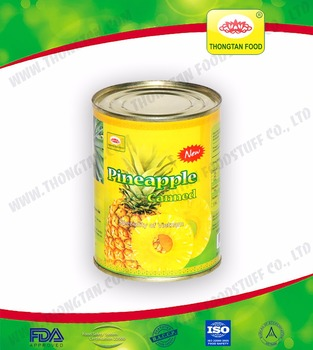 High quality good price canned pineapple