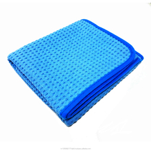 CRAZY microfiber waffle car drying towel cloth with silk satin of my clover in south korea wash cloth