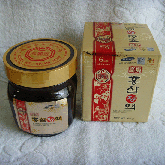 Korean Red Ginseng Extract Syrup (600g)