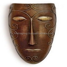 High quality hand painted iron man mask design wall decor