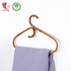 Vintage Style Rattan Clothes Coat Hanger hook Wholesale For Neat Home