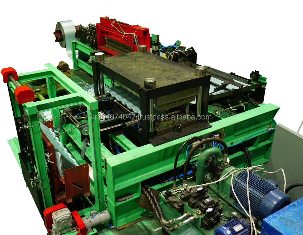 Best quality korean fully automated roof tile press and making machine