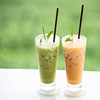 Ice Blended Flavored Green Tea Latte Powder With Rich in Flavor (HALAL)