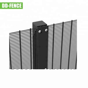 pvc high security fence 358 security anti climb high security wire wall fence
