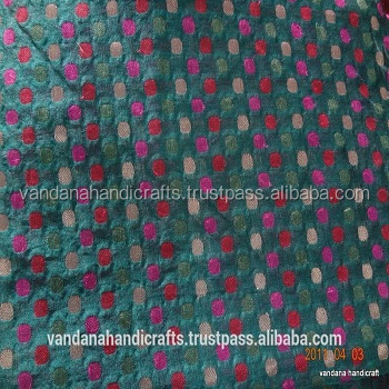 textiles and garment printed brocade fabric in india