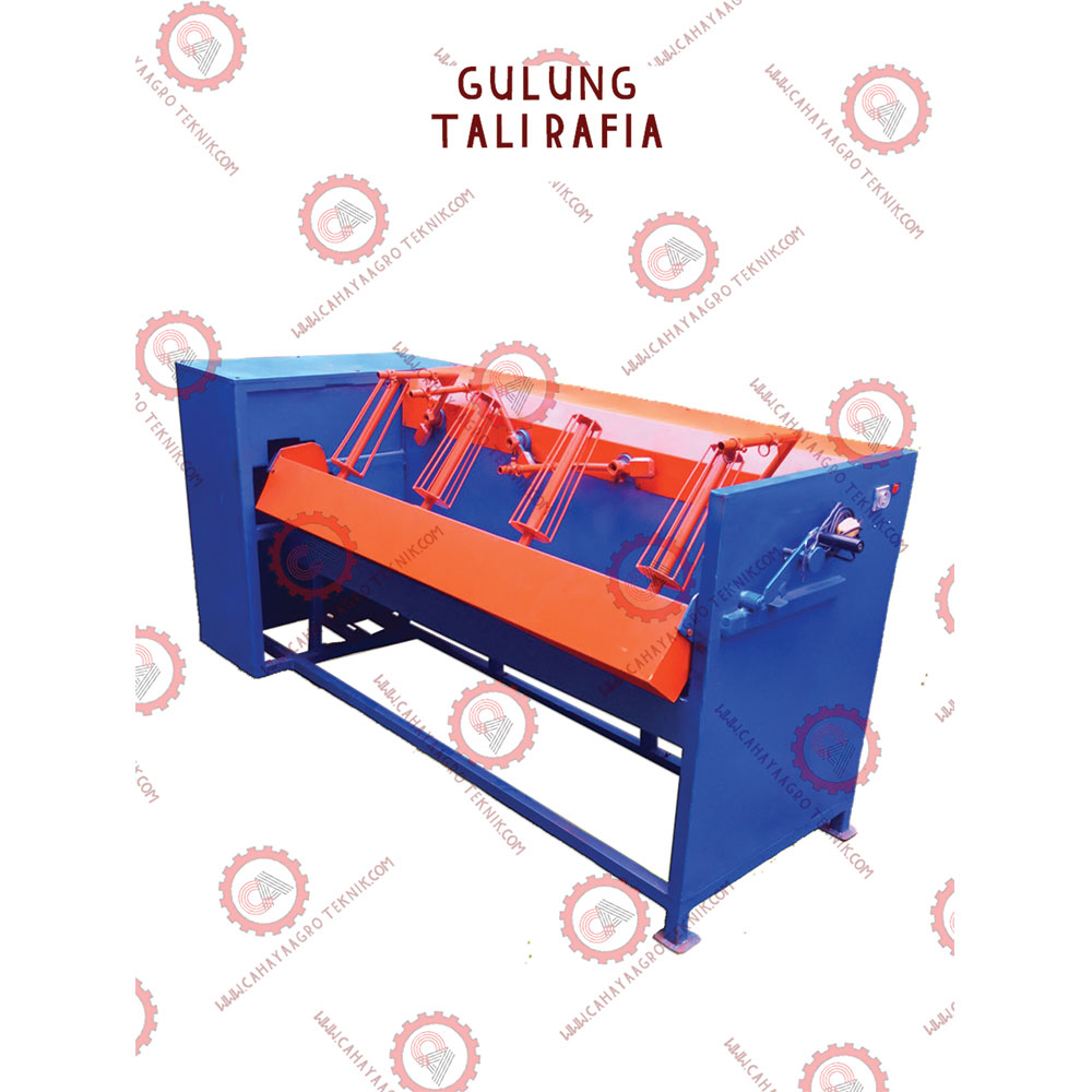 Premium Raffia Rope Roll Form Making Machine