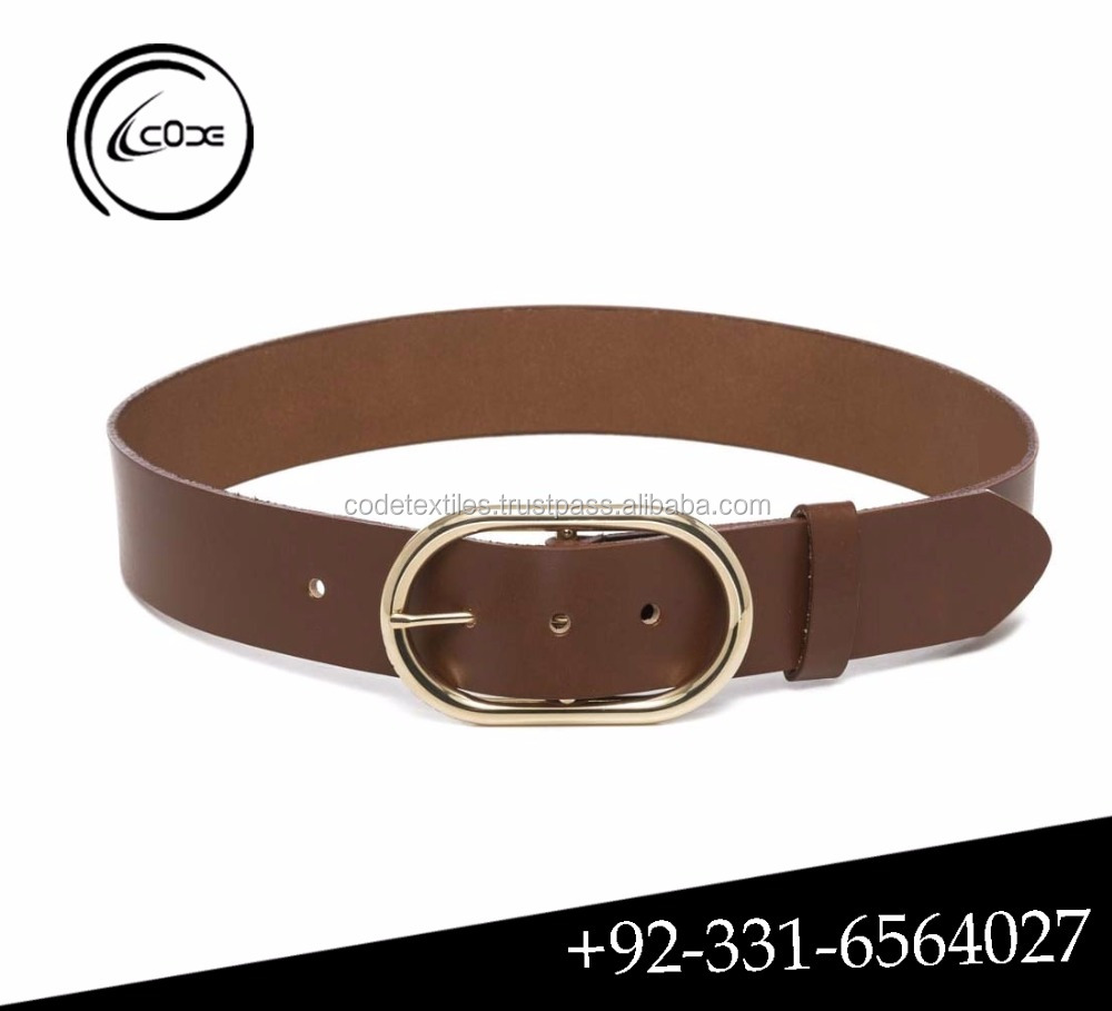 Hot sale new models high quality Genuine leather girl belt for women lady